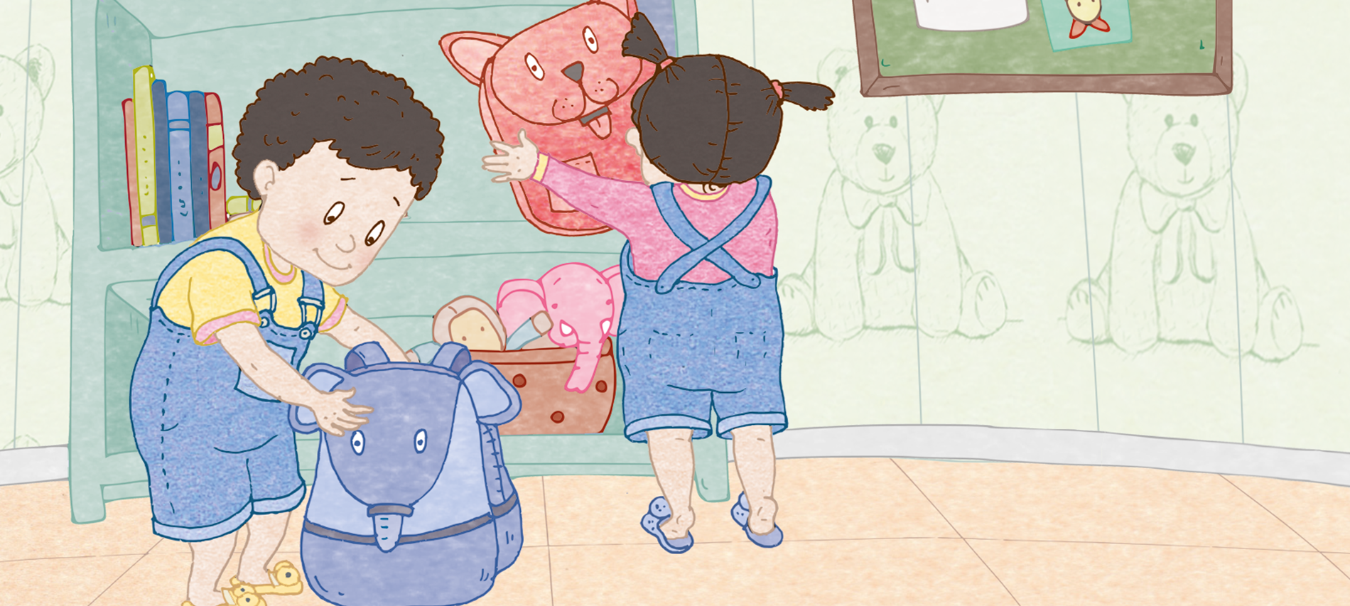 Oh No! There's Just One Tub of Popcorn for Nicky and Noni!: 'Sharing is Cool' — An Excerpt