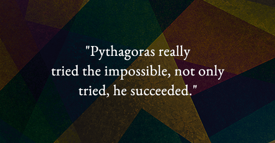 Why Osho was inspired by Pythagoras?