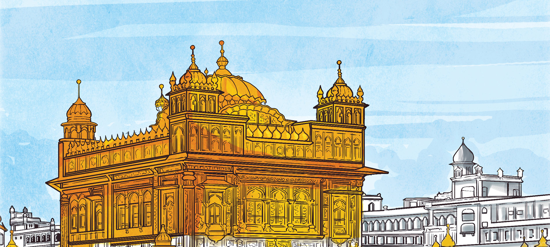 Let's Revisit the Golden Temple with Amma and Her Boys!