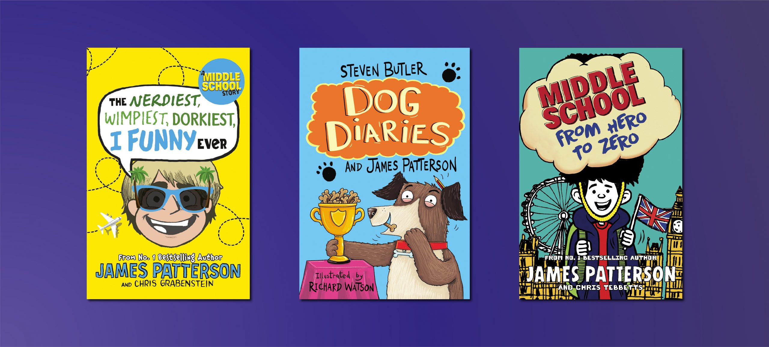 Three James Patterson Titles your Little Ones Shouldn't Miss