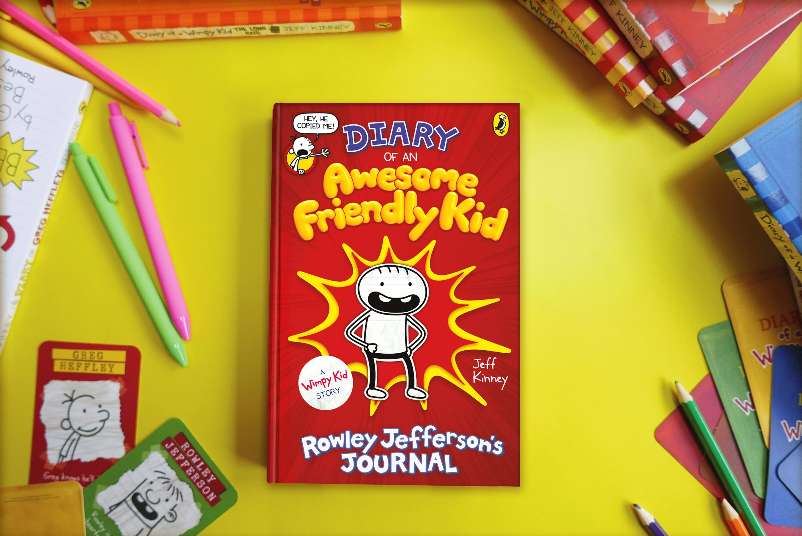 Meet the Wimpy Author of 'Diary of an Awesome Friendly Kid'!