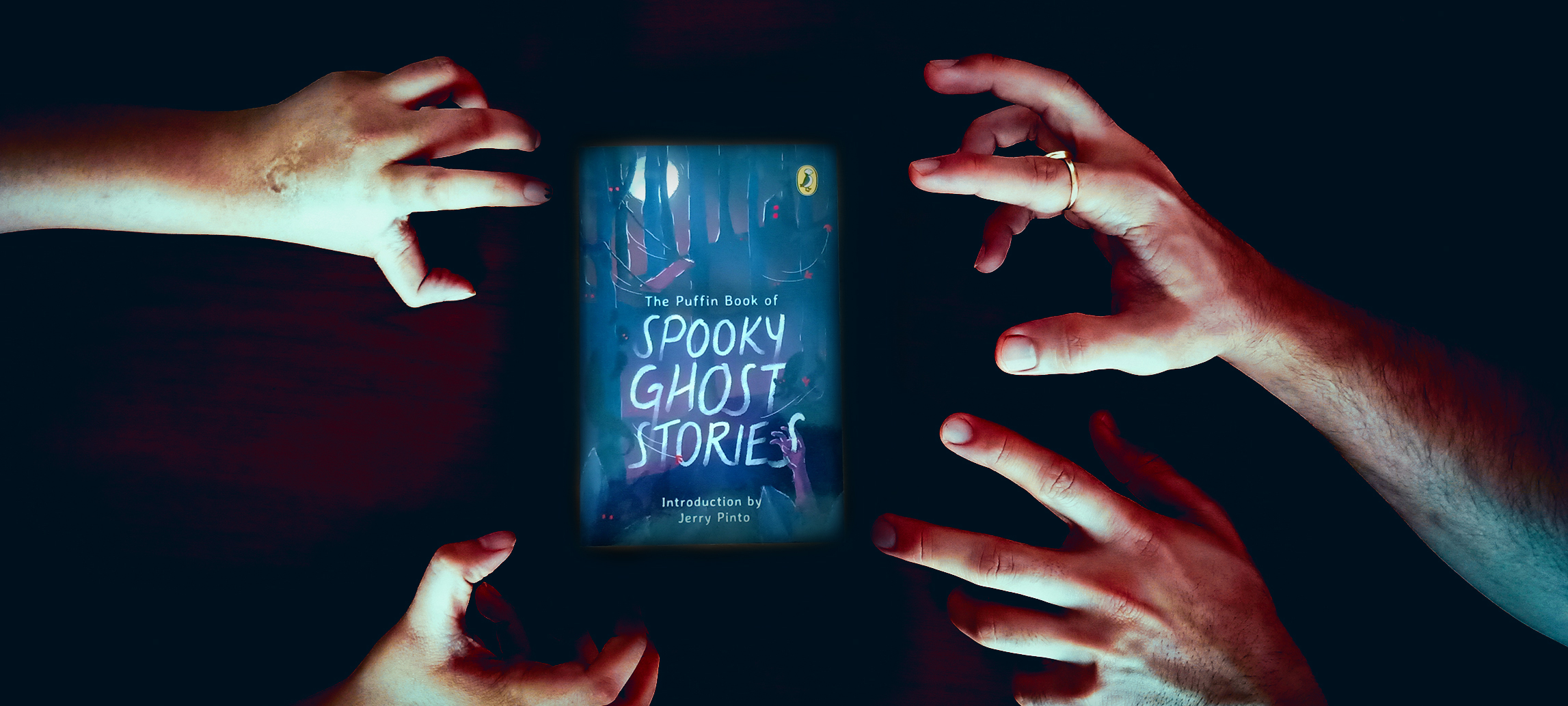 A Neighing Man And His Son: 'The Puffin Book of Spooky Ghost Stories' — An Excerpt