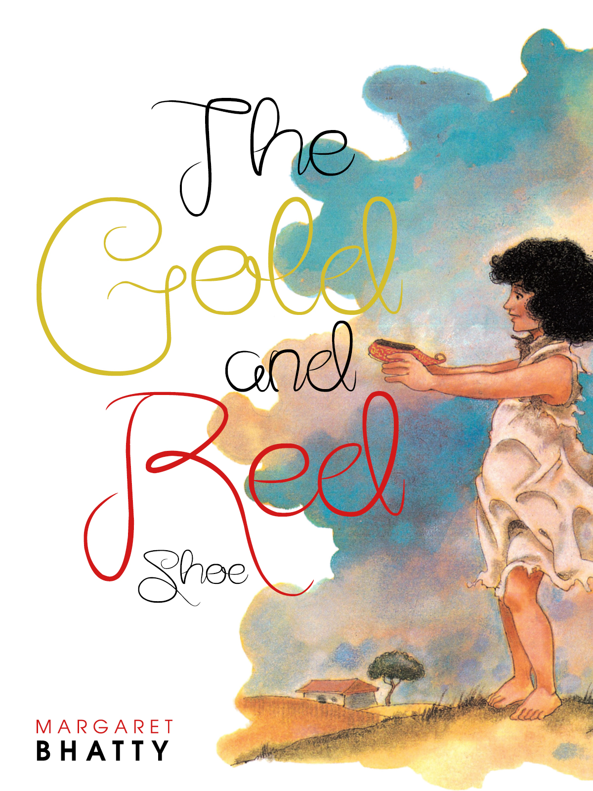 The Gold and Red Shoe