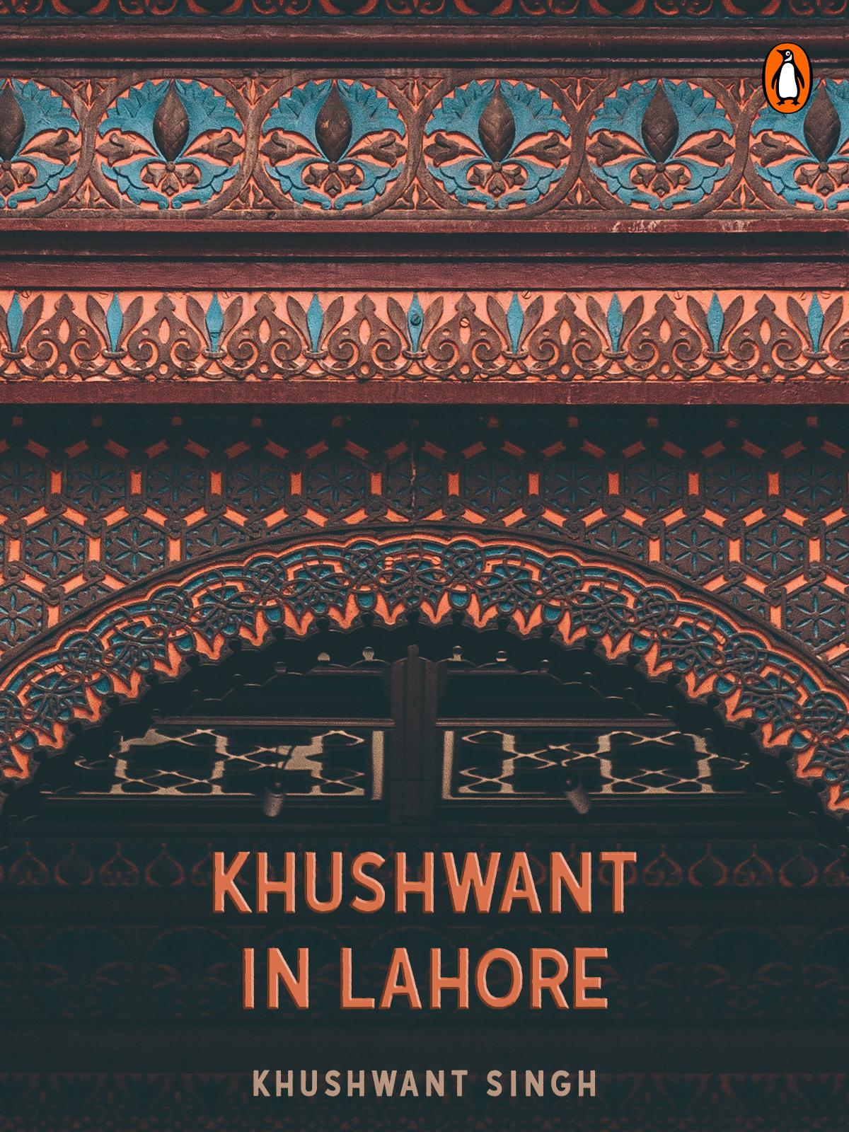 Khushwant in Lahore