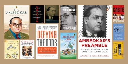 Remembering Dr. Ambedkar's Life through Books on his Legacy and Footprint