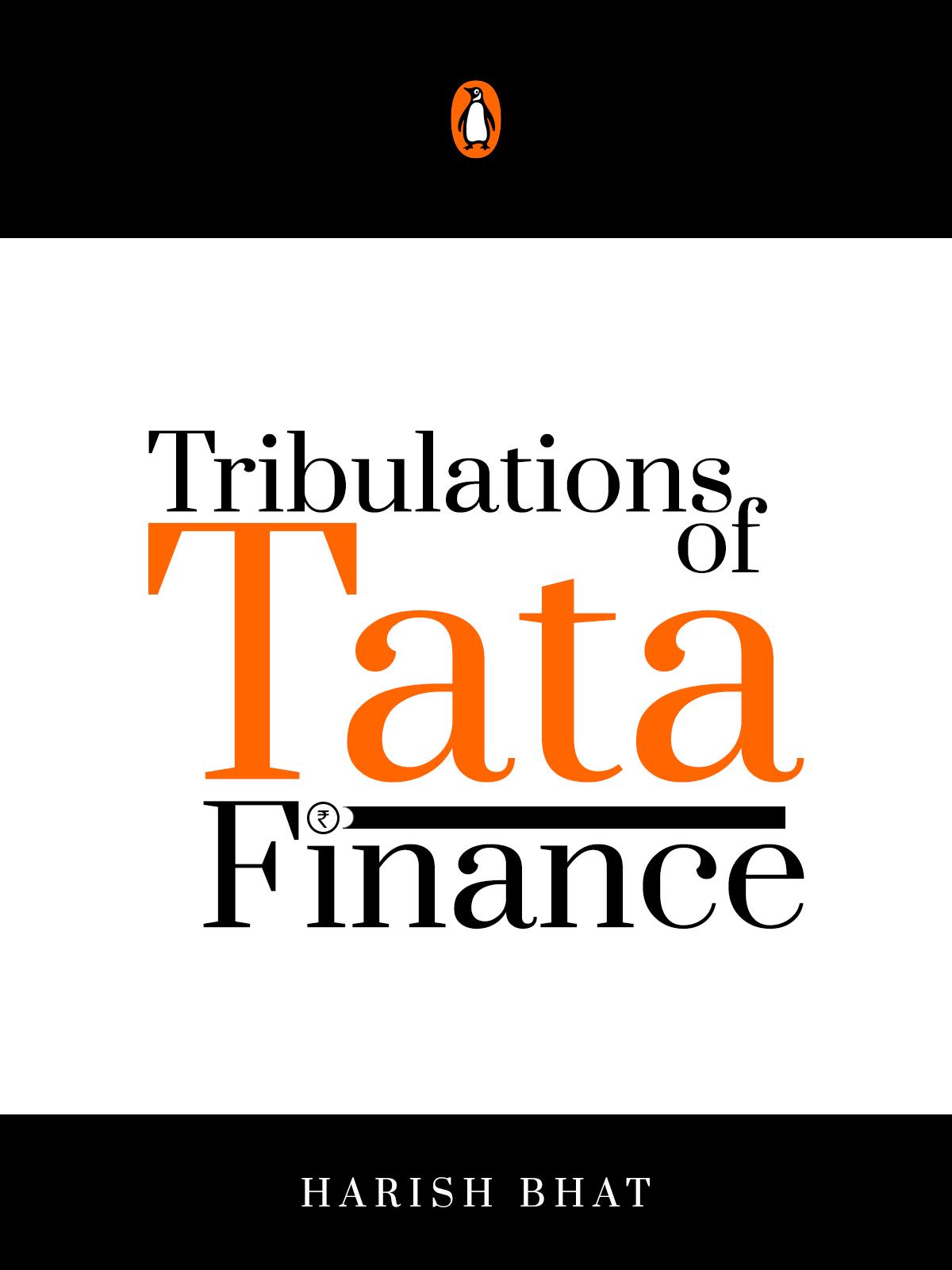 The Tribulations of Tata Finance