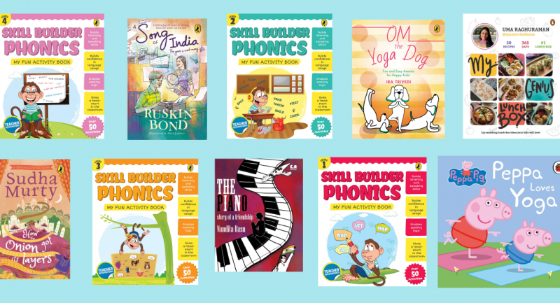 Books to keep the little ones busy with, this July!