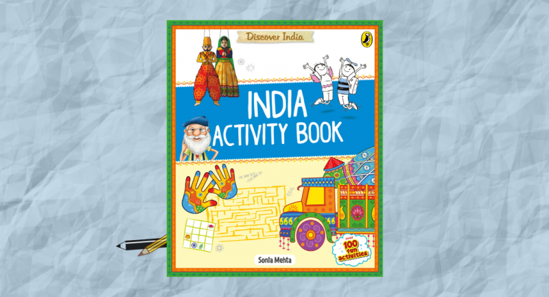 Get your young ones to Discover India with this book of fun activities