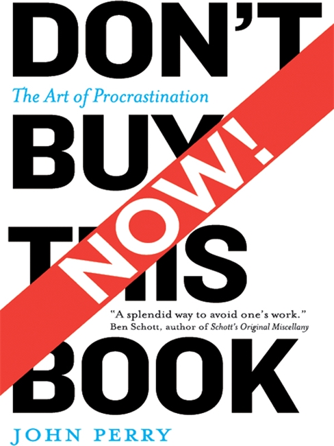 Don't Buy This Book Now!