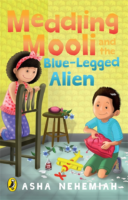 Meddling Mooli And The Bluelegged Alien