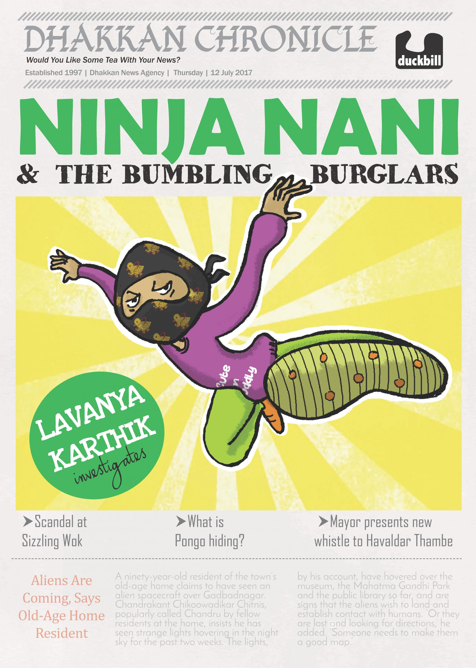 Ninja Nani and the Bumbling Burglars