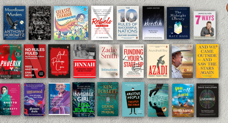 An enormous reading list to keep you company this September!