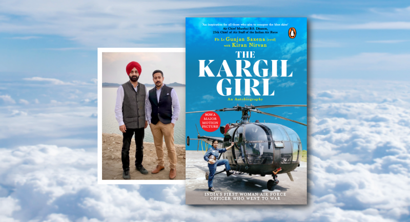 Meet Kiran Nirvan, the co-authors of The Kargil Girl