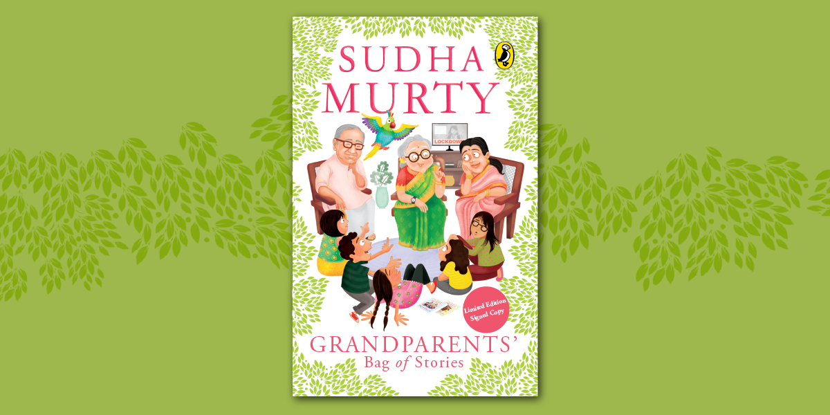 A tiny glimpse into Sudha Murty's brand-new bag of stories!