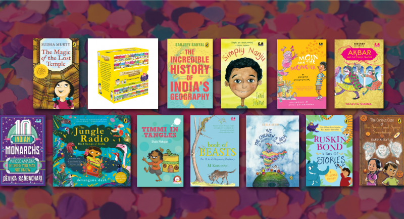 Fun new reads for your shelves, this Children's Day