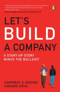 front cover Let's Build a Company