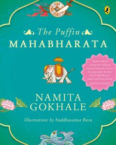 Front cover of The Puffin Mahabharata