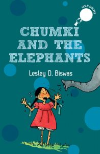 front cover Chumki and The Elephants