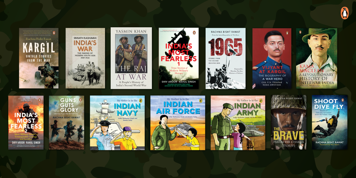 India, War and the Armed Forces: Books to read