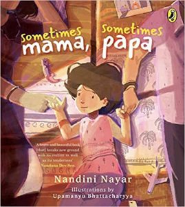 front cover of Sometimes Mama, Sometimes Papa