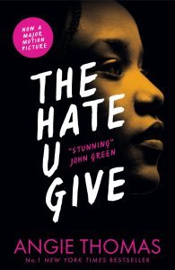 front cover The Hate U Give