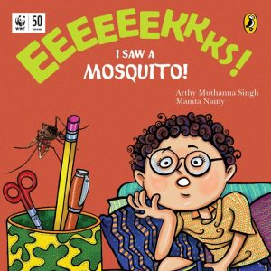 front cover Eeks I Saw a Mosquito