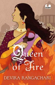 front cover of Queen of Fire