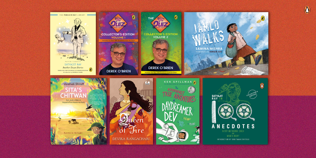 Magnificent reads for young readers for the month of April