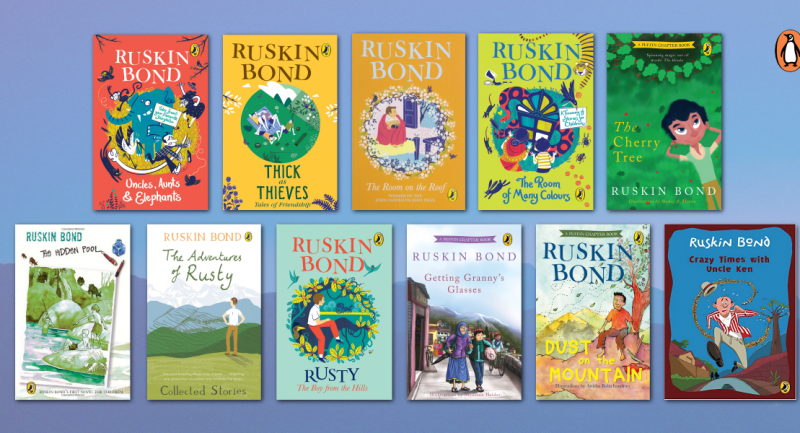 Share the Ruskin Bond love with your little ones!