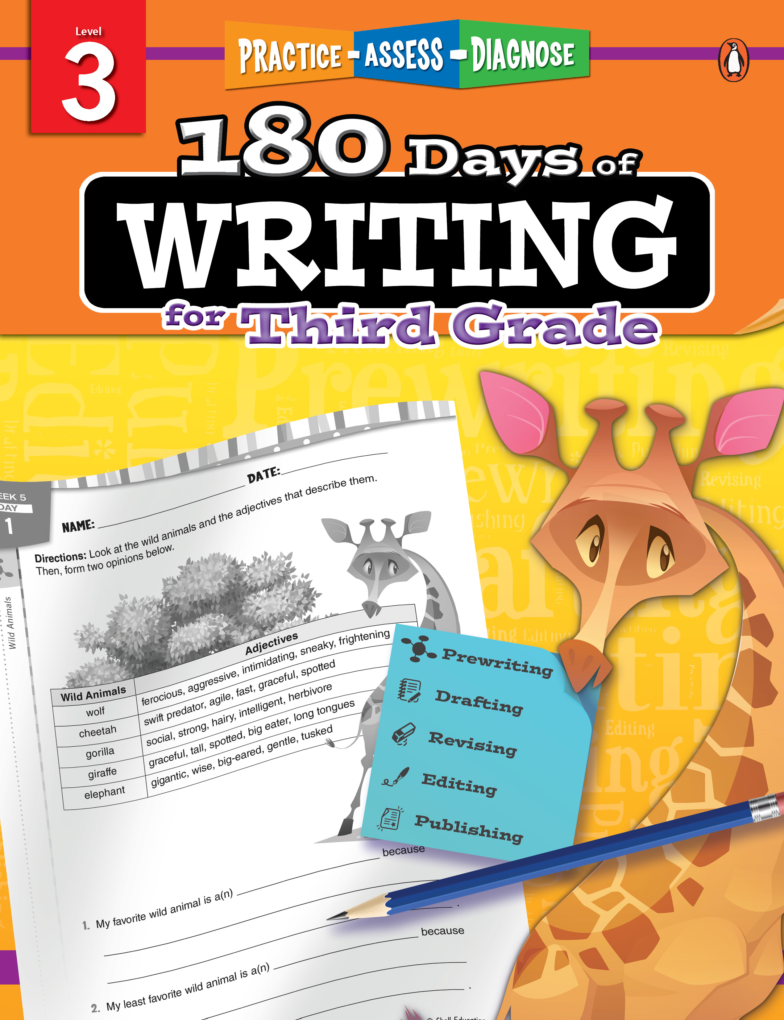 180 days of writing grade 3